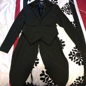 Black tail coat